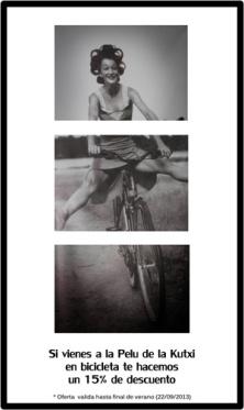 Ven en bici a La Pelu de la Kutxi